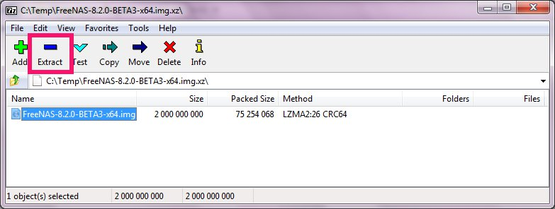 Installing FreeNAS to USB stick (new and simpler way