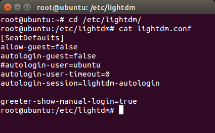 Disable autologin in Ubuntu – Angel's Place
