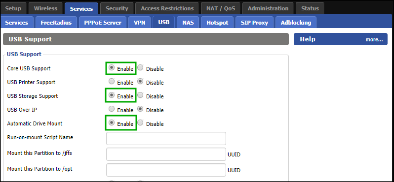Site-to-Site VPN between on premise network and Azure using DD_WRT and Entware / StrongSwan – part 3 of 5IntroductionPrepare USB driveInstall Entware-ng 3x