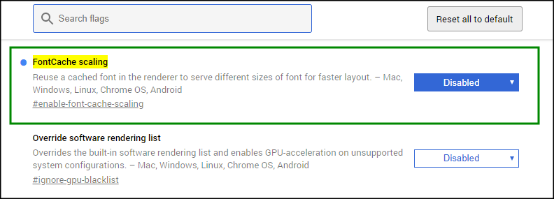 Fix the choppy fonts in Google Chrome – Angel's Place
